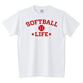 ソフトボール赤TシャツSOFTBALL文字ロゴ画像.jpg